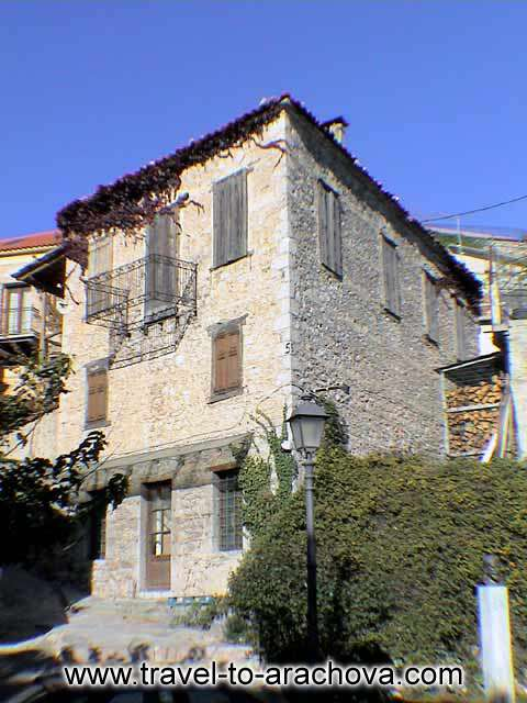 TRADITIONAL HOUSE IN ARACHOVA -