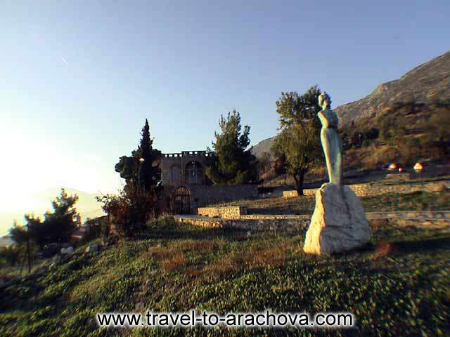 ARACHOVA PHOTO GALLERY - SIKELIANOS HOUSE IN DELPHI