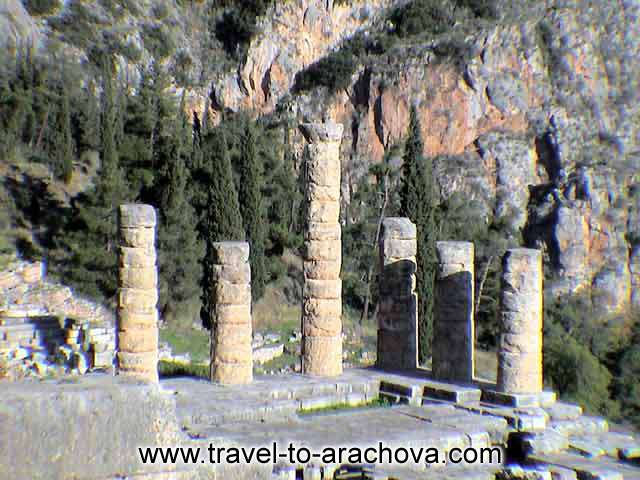 ARACHOVA PHOTO GALLERY - ARCHAEOLOGICAL SITE OF DELPHI