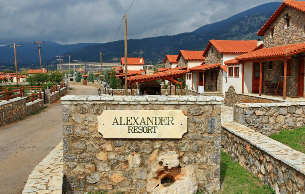 ALEXANDER RESORT  HOTELS IN  LIVADI - ARACHOVA